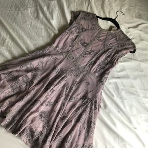 Free People Delicate purple dress